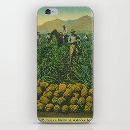 Hawaiian pineapple iPhone Skin