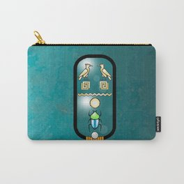 Egyptian Cartouche Carry-All Pouch