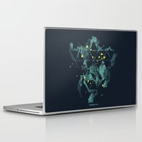 "edm Laptop & iPad Skins featuring Gravity Levels ""Space Bird"" by Sitchko Igor"