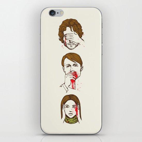 No Evil Hannibal iPhone & iPod Skin