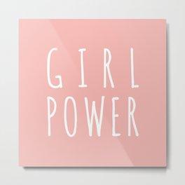 GIRL POWER - 1 Metal Print