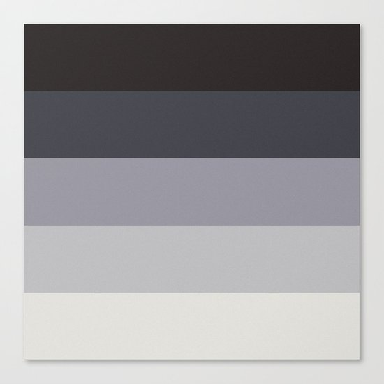 Retro Stripes Canvas Print