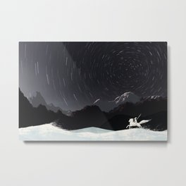 Mountain Rider Metal Print
