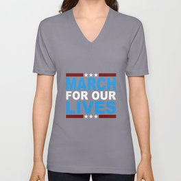 March for Our Lives Shirt Unisex V-Neck