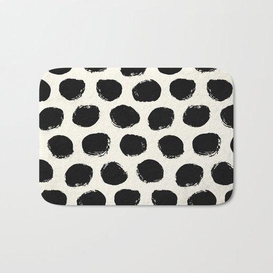 Urban Polka Dots Bath Mat