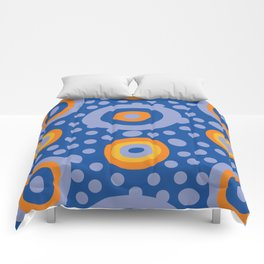 Rapsody in blue Comforters