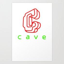 Cave Co. Art Print