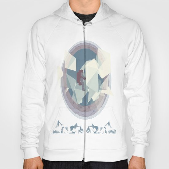 Astronaut and ice planet Hoody