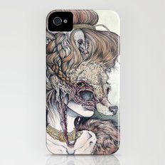 Vulpes Masquerade, now as a print! iPhone (4, 4s) Slim Case