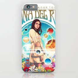 lana del ray la to the moon 2021 iPhone Case