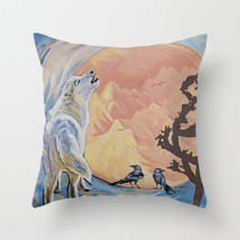 Rejoice; The Turning of the Sun Throw Pillow