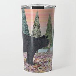 black bears & evergreens Travel Mug