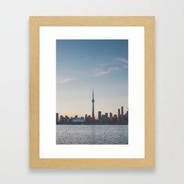 Toronto IV Framed Art Print