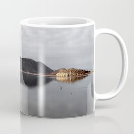 Winter lake Coffee Mug