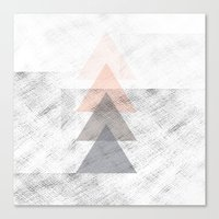 triangles Canvas Prints featuring Triangles by Indiepeek | Marta