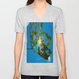 Let Your Light Shine Through Unisex V-Neck