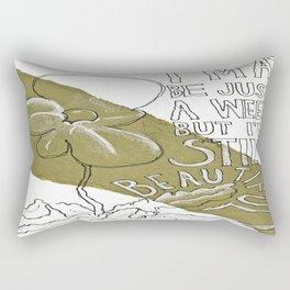 Still Beautiful  Rectangular Pillow