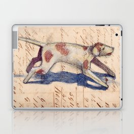 Metal Dog from France Laptop & iPad Skin