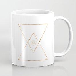 Mandala Gold Geometric Eye Coffee Mug