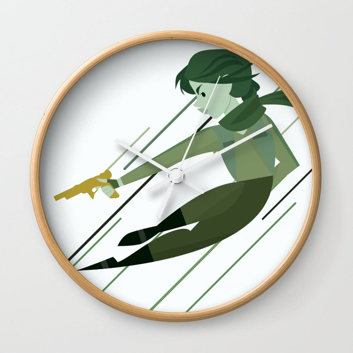 The Spark of Hope Wall Clock