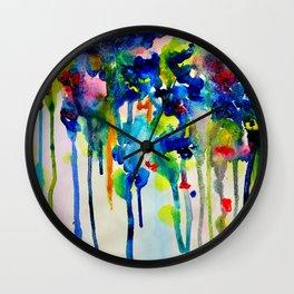 ABSTRACTION MOOD II Wall Clock