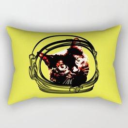 pop alien cat Rectangular Pillow