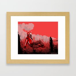 Peaceful Wasteland Framed Art Print