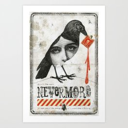 Nevermore Art Print