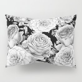 ROSES ON DARK BACKGROUND Pillow Sham