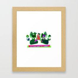 Acidulant's Army  Framed Art Print