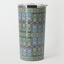 Colorful Luxury Ornate Pattern Travel Mug