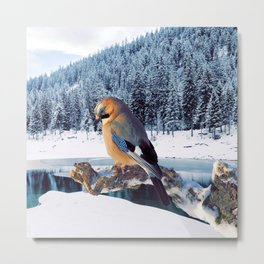 Winter Moments Metal Print