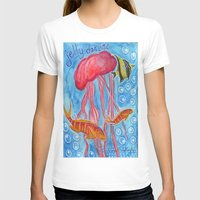 jelly fish T-shirts featuring Jelly Fish by Julie M Studios
