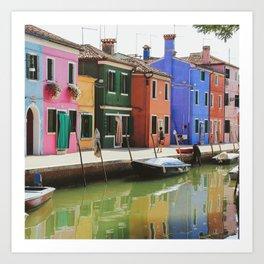 Couleurs italiennes Art Print
