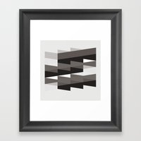 Aronde Pattern #02 Framed Art Print