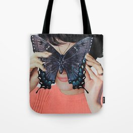 Morpho Butterfly Tote Bag