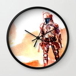 StarWars Jango Fett Wall Clock