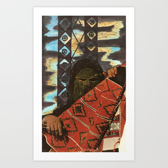 riddle mother Art Print