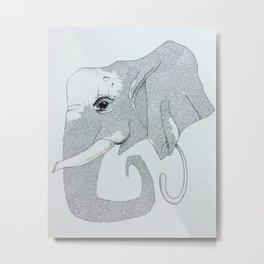 A mazing elephant Metal Print