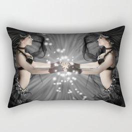 The Bellydancers Dark Rectangular Pillow