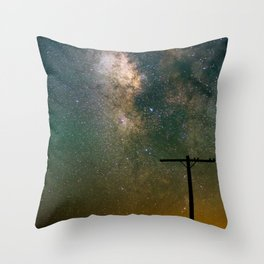 Transmission Complete Throw Pillow