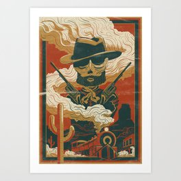 Train to Yuma Art Print