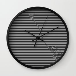 Camouflage For Hunting Wall Clock