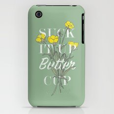Suck it Up Buttercup Slim Case iPhone (3g, 3gs)