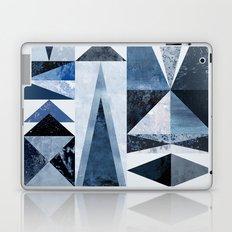 Blue Shapes Laptop & iPad Skin