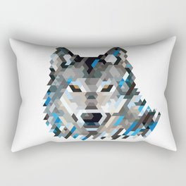 狼 OOKAMI Rectangular Pillow