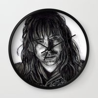 kili Wall Clocks featuring Kili by laya rose