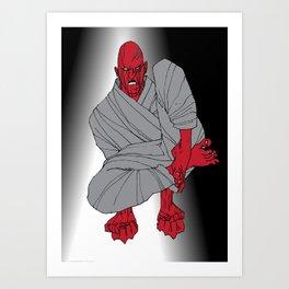 fist 2 Art Print