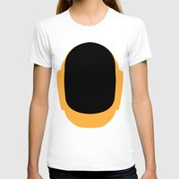 deadmau5 T-shirts featuring Daft Punk Guy Manuel Helmet by Alli Vanes