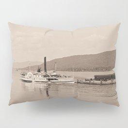 The Horicon I Steamboat (sepia) Pillow Sham